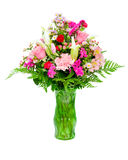 Fresh, colorful professional flower arrangement Royalty Free Stock Image