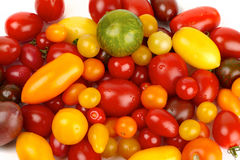 Fresh colorful tomatoes Royalty Free Stock Image