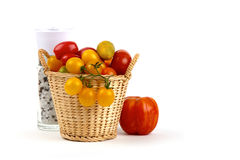 Fresh colorful tomatoes Royalty Free Stock Photo