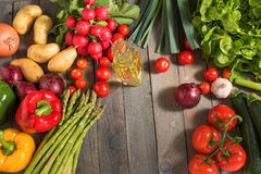 Fresh colorful vegetables Stock Photos