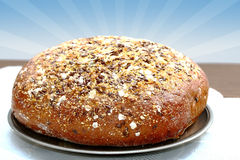 Fresh communion bread Royalty Free Stock Image