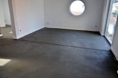 Fresh concreted room Stock Photography
