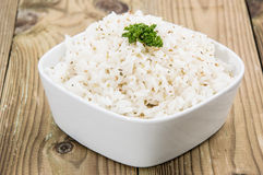 Fresh cooked Rice in a bowl Royalty Free Stock Photography