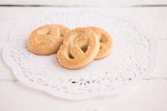 Fresh cookies Royalty Free Stock Photo