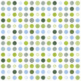 Fresh cool dotted background. Fresh Blue and green Summery dotted pattern on white background Stock Image