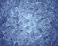 Fresh cool ice cube background Royalty Free Stock Photography