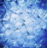 Fresh cool ice cube. Background Royalty Free Stock Image