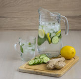 Fresh cooling drink Stock Image