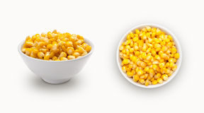 Fresh  corn  in a bowl Stock Photography