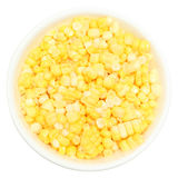 Fresh Corn in Bowl Stock Photo