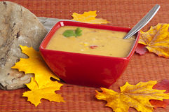Fresh Corn Chowder Stock Photo
