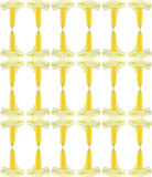 Fresh corn cobs background. Fresh corn cobs seamless pattern background Royalty Free Stock Images
