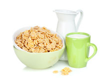 Fresh corn flakes Royalty Free Stock Photos