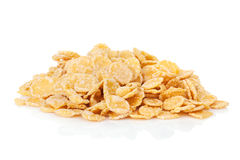 Fresh corn flakes heap Stock Images