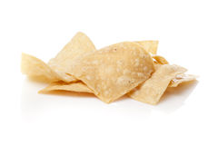 Fresh corn tortilla chips Stock Photos