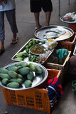 Fresh Cos Lettuce Leaves stock photos