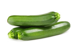 Fresh courgettes Royalty Free Stock Photography