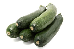 Fresh courgettes Royalty Free Stock Image