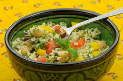 Fresh couscous salad Royalty Free Stock Photo