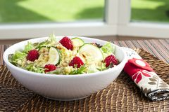 Fresh Couscous Salad Stock Images