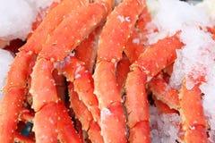 Fresh crab legs Royalty Free Stock Photography