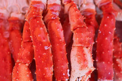 Fresh crab legs Royalty Free Stock Images