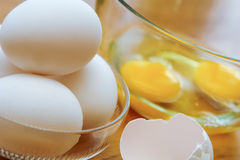 Broken Eggs Royalty Free Stock Image