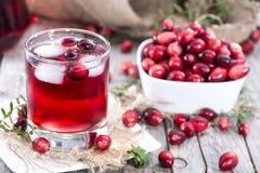 Fresh Cranberry Juice Royalty Free Stock Photography