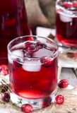 Fresh Cranberry Juice Stock Image