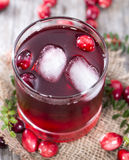 Fresh Cranberry Juice Royalty Free Stock Image