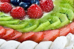 Fresh cream cake Royalty Free Stock Images