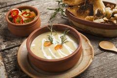 Fresh cream soup Royalty Free Stock Photos