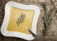 Fresh cream soup Stock Photography