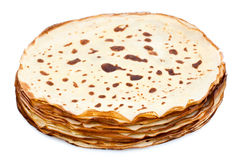 Fresh crepes royalty free stock photography