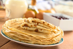 Fresh Crepes Royalty Free Stock Image