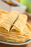Fresh Crepes Stock Photos