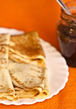 Fresh Crepes Stock Photography