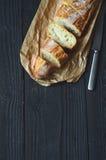 Fresh crispy baguette Stock Image