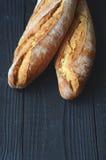 Fresh crispy baguette Stock Photo