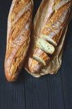 Fresh crispy baguette Royalty Free Stock Photography