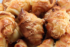 Fresh croissant. Tasty,hot and fresh croissant stock photography