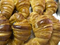 Fresh croissant Royalty Free Stock Photos