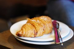Fresh croissant Royalty Free Stock Image