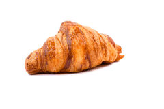 Fresh Croissant isolated on white background. Stock Photography