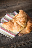 Fresh croissant Royalty Free Stock Photo
