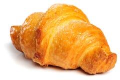 Fresh croissant on white background Stock Photography