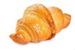 Fresh croissant on white background Stock Image