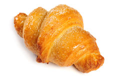 Fresh croissant on white background Stock Photography