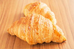 Fresh croissant Stock Photography