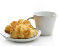 Fresh  Croissants Royalty Free Stock Images